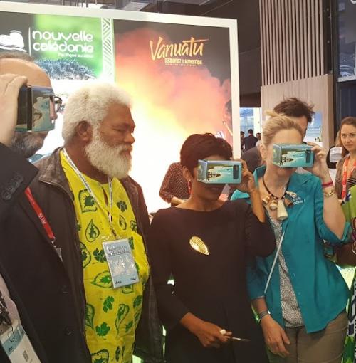 Réalité virtuelle stand Nouvelle-Caledonie Semply VR